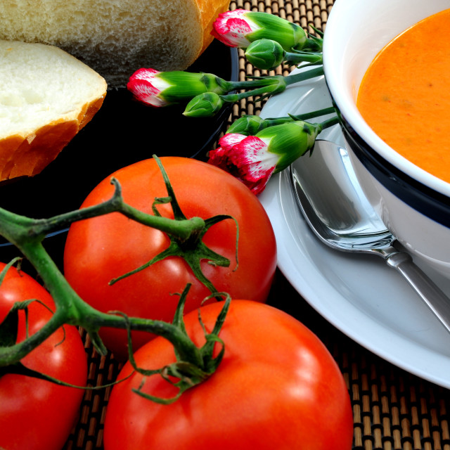 """""""Tomato Soup"""" stock image"""