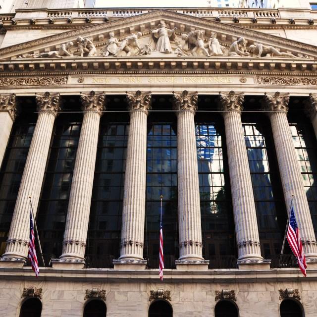 """NYSE"" stock image"