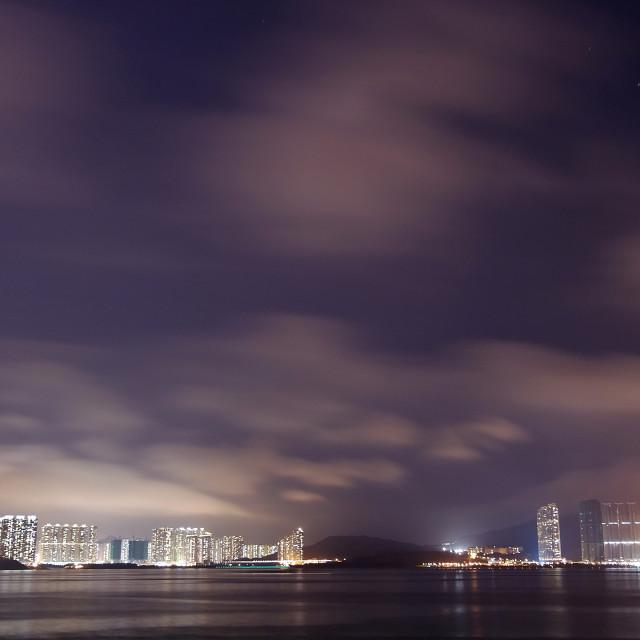 """""""Tseung Kwan O, Hong Kong"""" stock image"""
