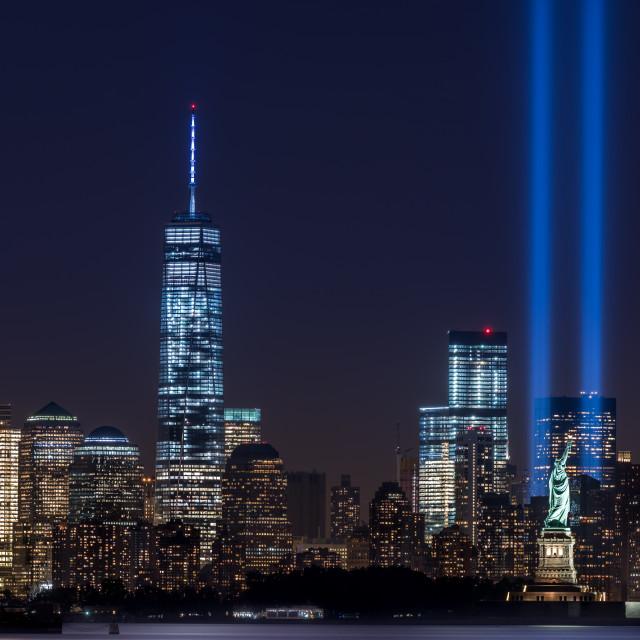 """Tribute In light 2014 Landscape"" stock image"