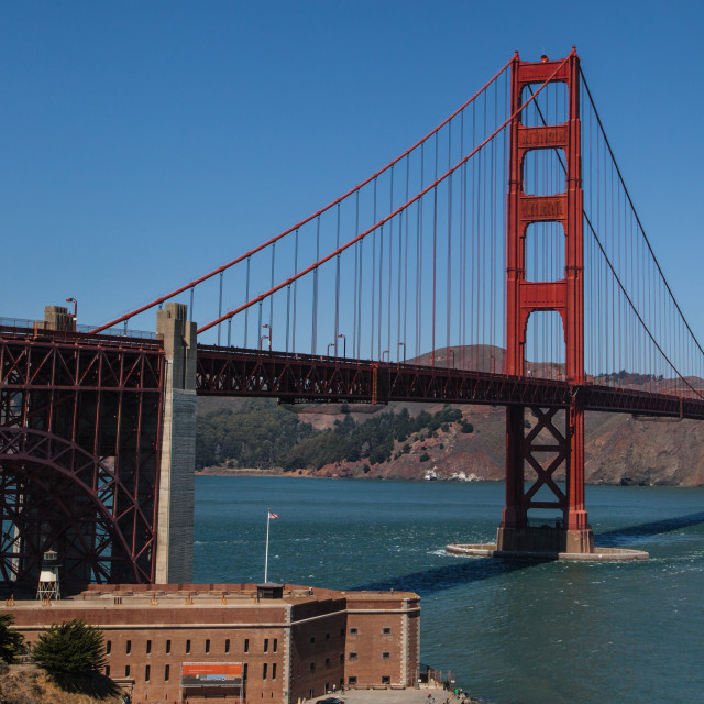 """Golden Gate"" stock image"