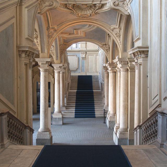 """Palazzo Madama, Turin"" stock image"