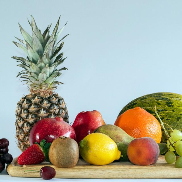 """""""Fruit Platter"""" stock image"""