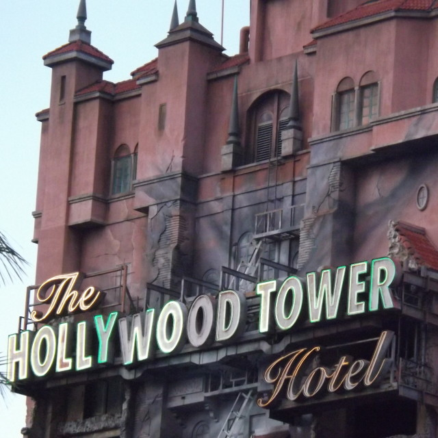 """""""Tower of Terror"""" stock image"""