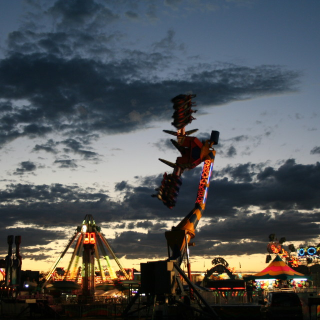 """New Mexico State Fair"" stock image"