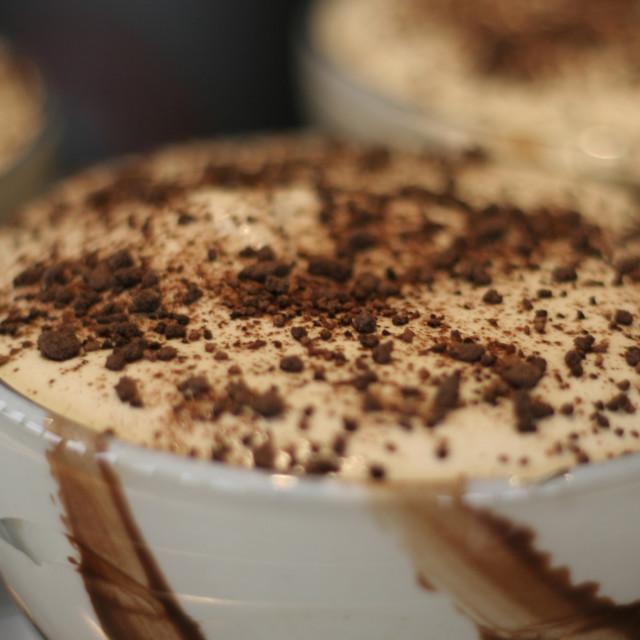 """Dessert"" stock image"
