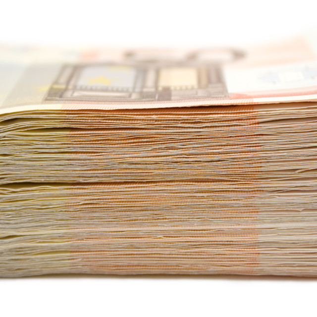 """Stacked Banknotes"" stock image"