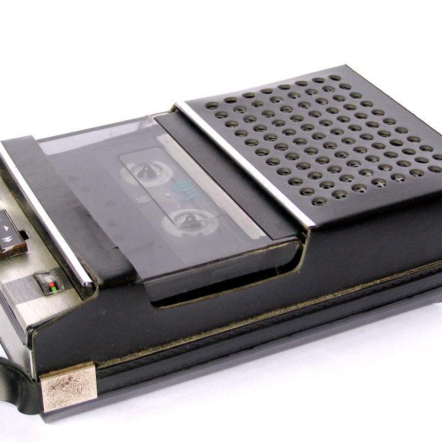 """""""Tape cassette recorder"""" stock image"""
