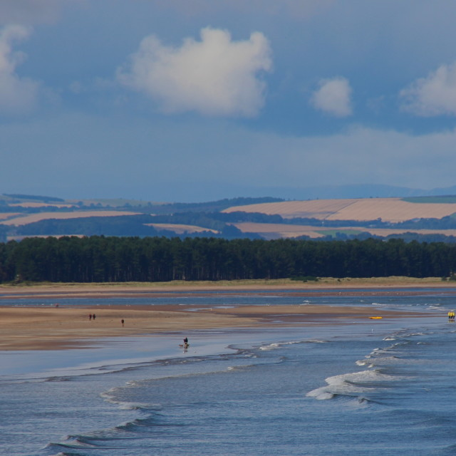 """""""West Sands, St Andrews"""" stock image"""