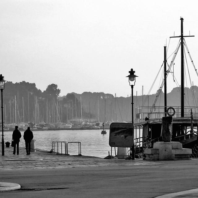 """Port Rovinj"" stock image"