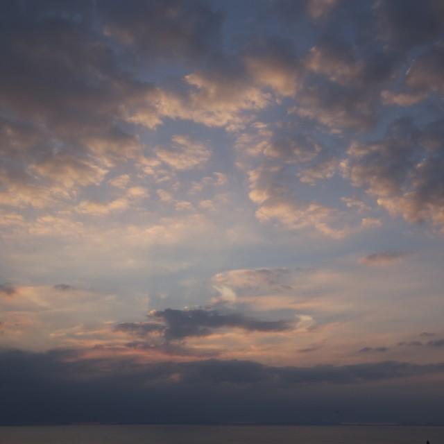 """""""Sky scene."""" stock image"""