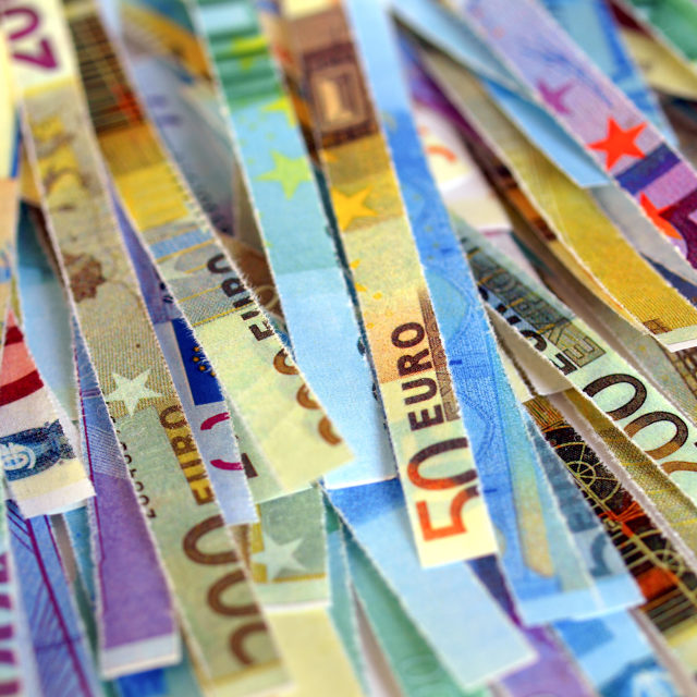 """Euro note"" stock image"