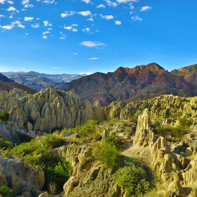 """Badlands of Bolivia"" stock image"