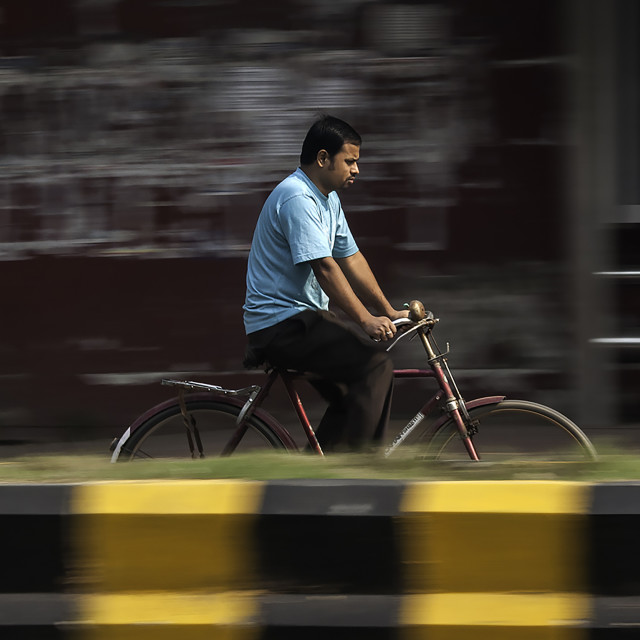 """panning cyclist"" stock image"