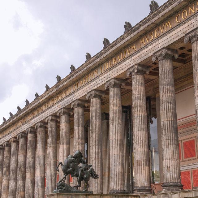 """""""Altesmuseum Berlin"""" stock image"""