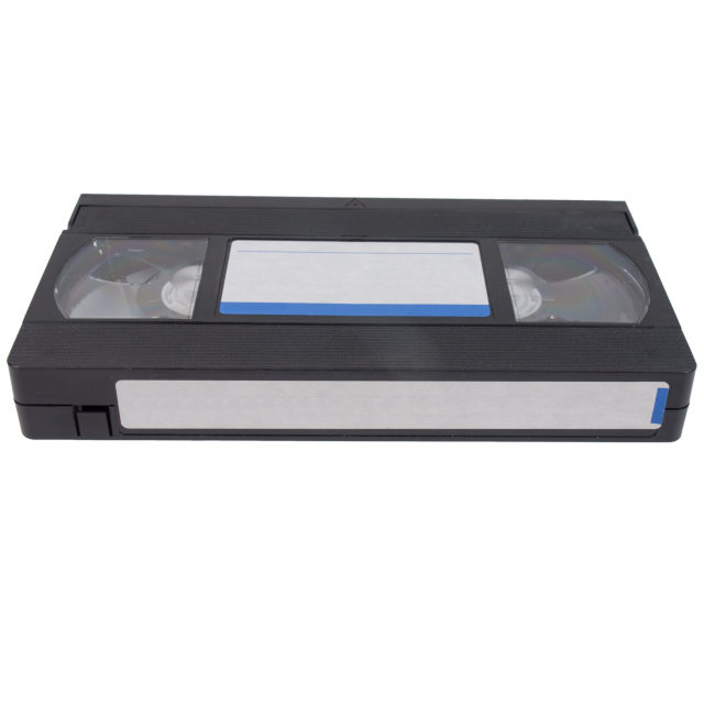 """""""VHS tape cassette"""" stock image"""