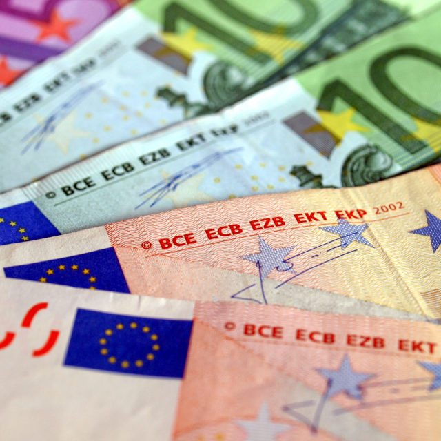 """Euros picture"" stock image"