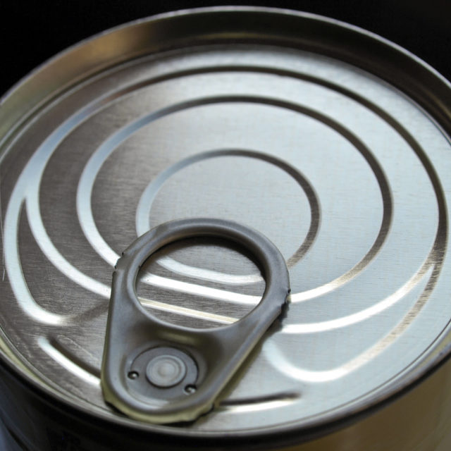 """""""Can of canned food"""" stock image"""