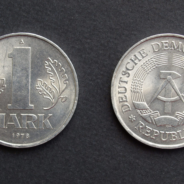 """""""DDR coin"""" stock image"""