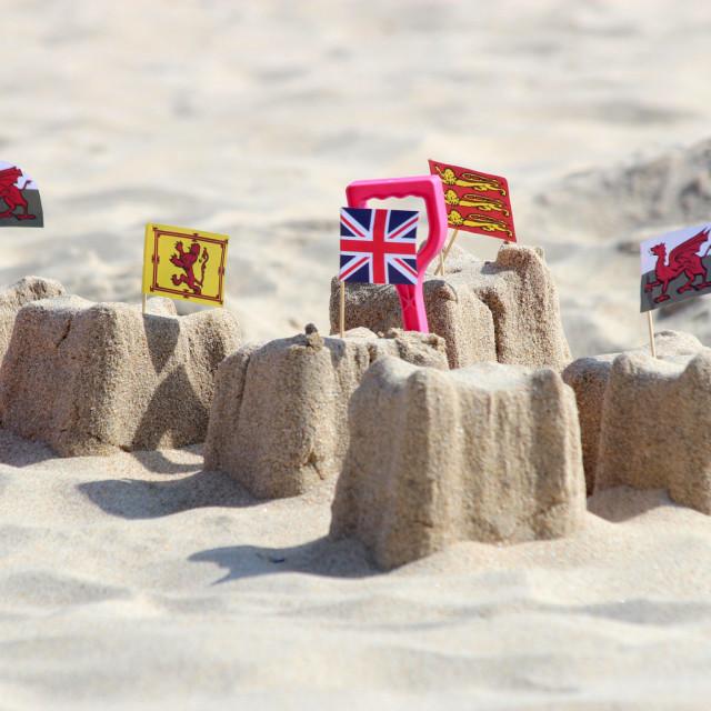 """The United Kingdom"" stock image"