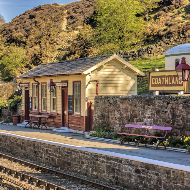 """Goathland Station North Yorkshire"" stock image"