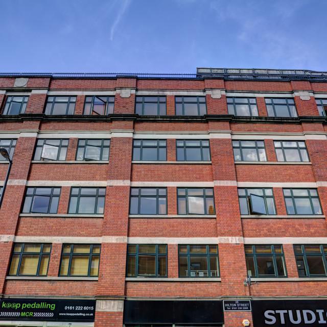 """Manchester Architecture V"" stock image"
