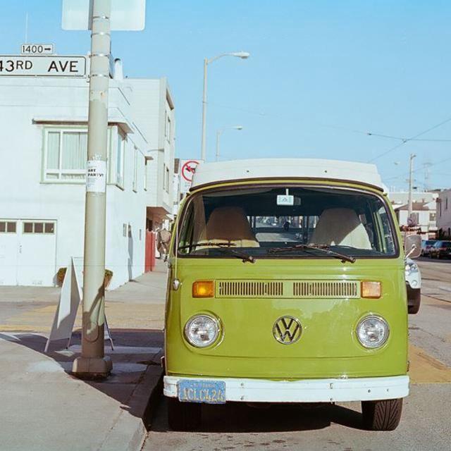 """Camper van. San Francisco."" stock image"