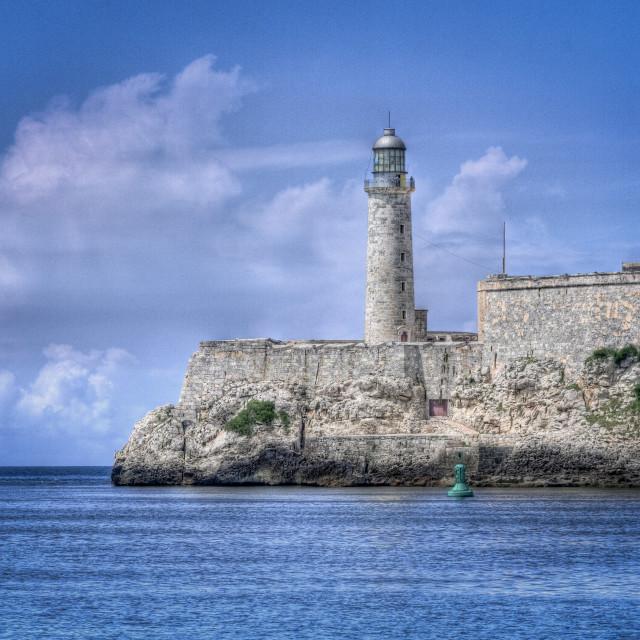 """""""El Faro, El Morro"""" stock image"""
