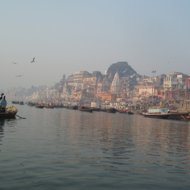 """River Ganges"" stock image"
