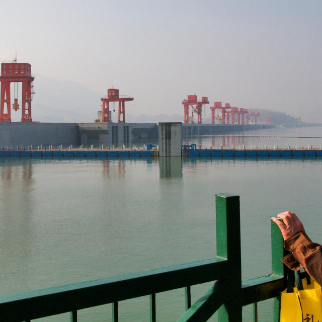 """Big Dam"" stock image"