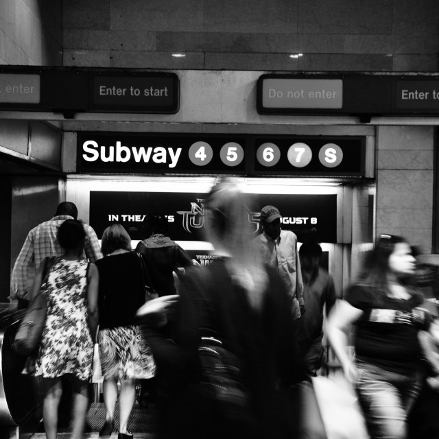 """Grand Central Subway"" stock image"