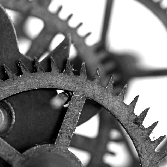 """Abstract Clockwork"" stock image"