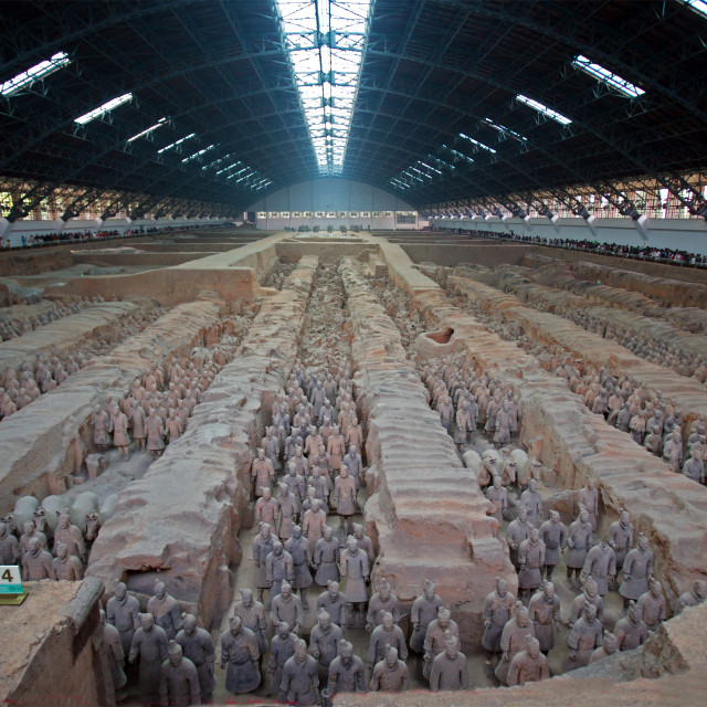 """Terracotta Army"" stock image"