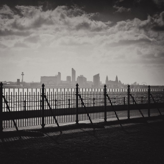 """Liverpool Skyline"" stock image"