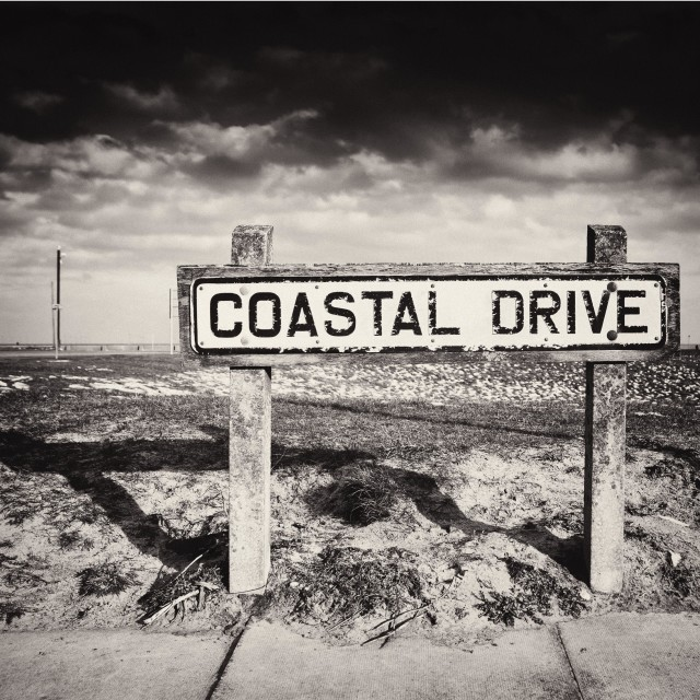 """Coastal Drive"" stock image"