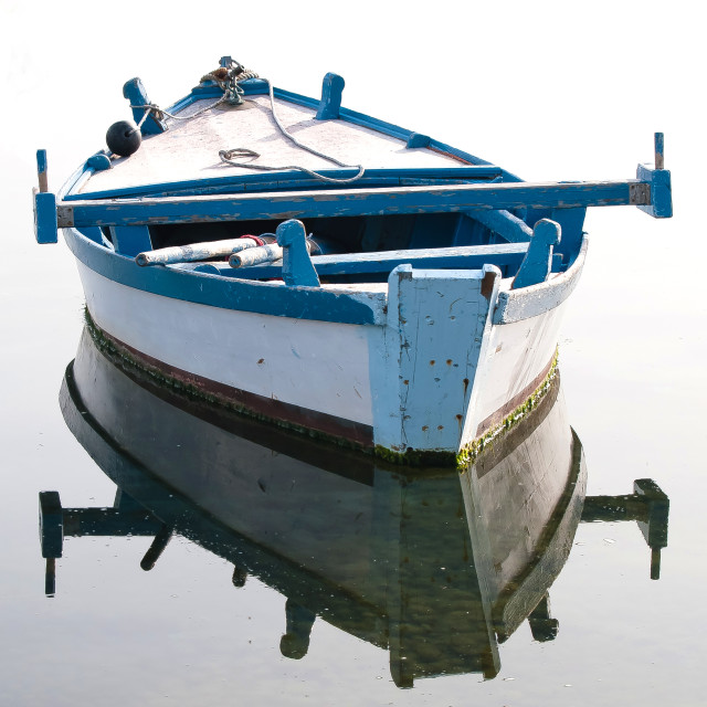 """old boat"" stock image"