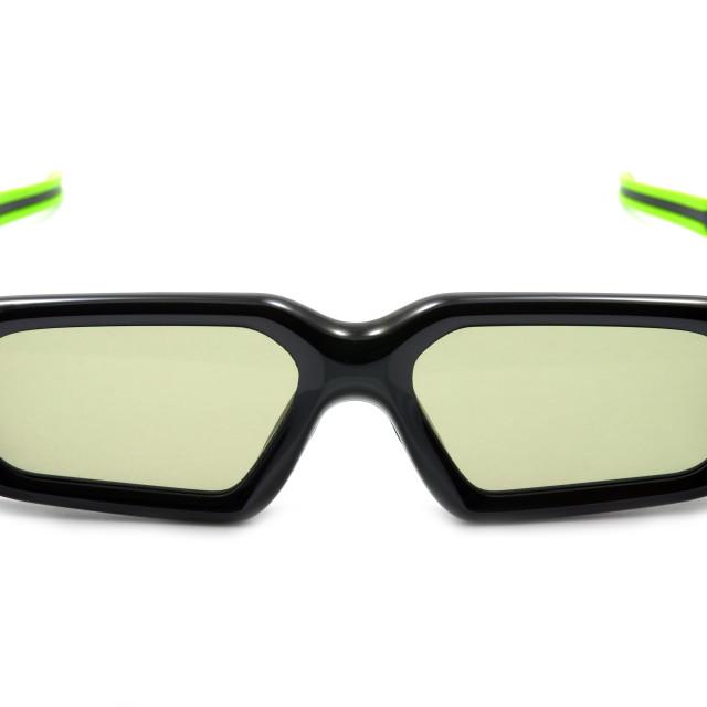 """Wireless 3D glasses"" stock image"