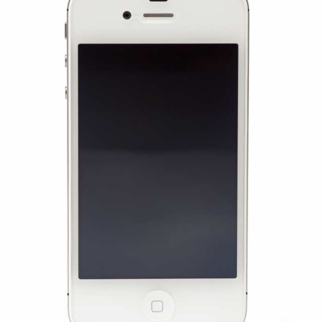 """New Apple iPhone 4S"" stock image"