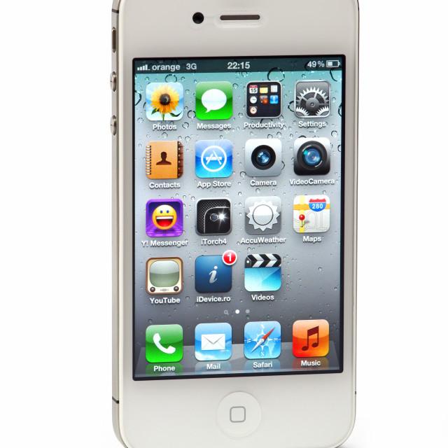 """iPhone 4S"" stock image"