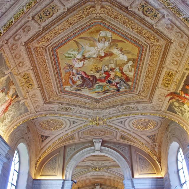 """""""Vatican Museum"""" stock image"""