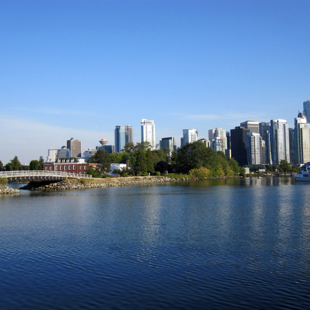 """""""Vancouver Harbour"""" stock image"""