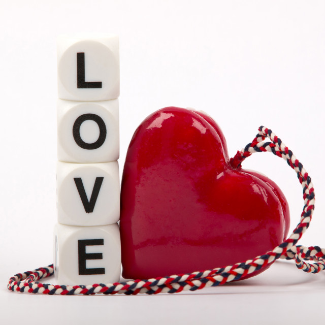 """""""love and hart"""" stock image"""