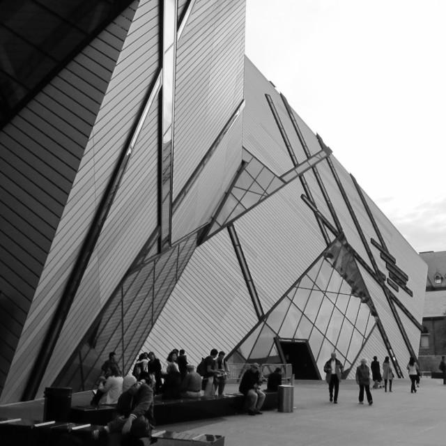 """""""Royal Ontario Museum (ROM)"""" stock image"""