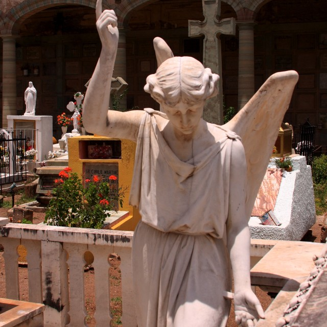 """Angel in the Cemetary"" stock image"