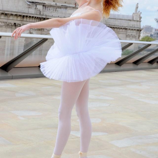 """""""5. Street Ballerina - St Pauls, London"""" stock image"""