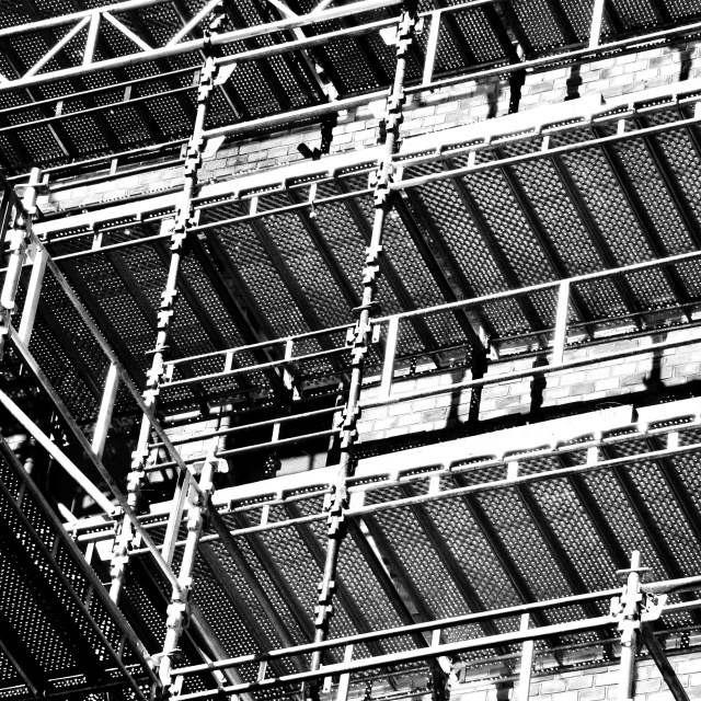 """Scaffolding"" stock image"