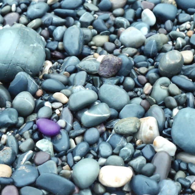 """Purple stone"" stock image"