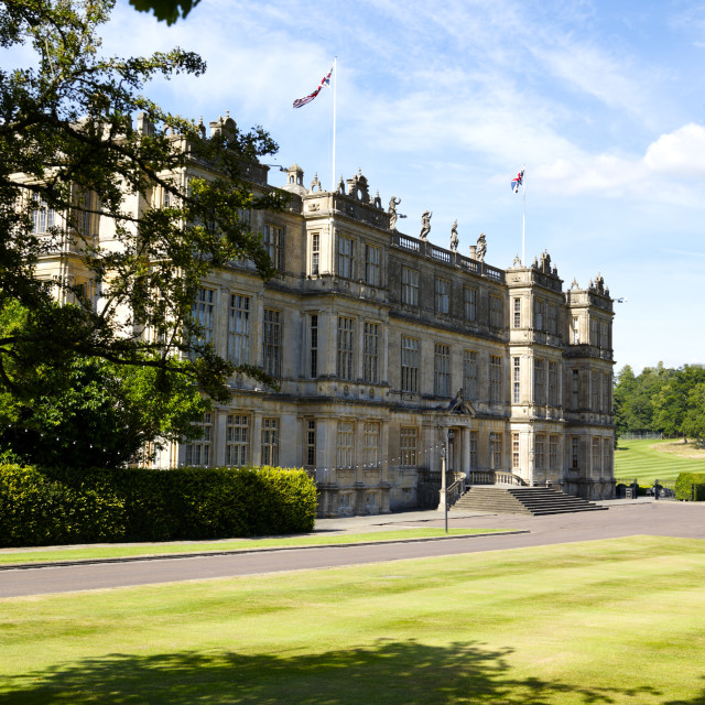 """Longleat House, Wiltshire, UK"" stock image"
