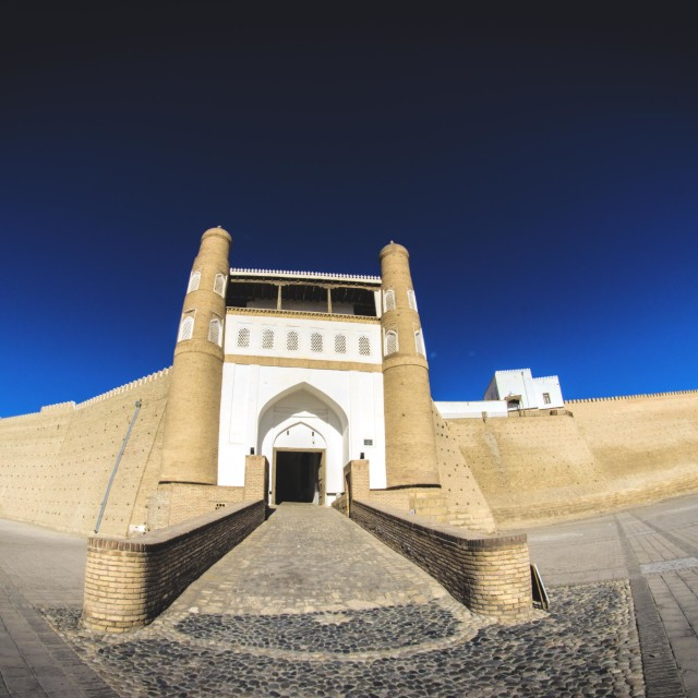 """The Bukhara Fortress"" stock image"