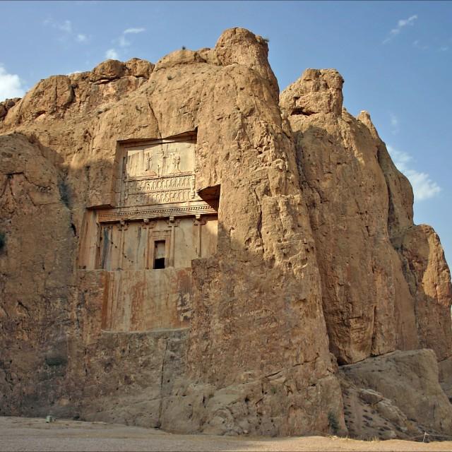 """Naqsh-e Rustam, Iran"" stock image"